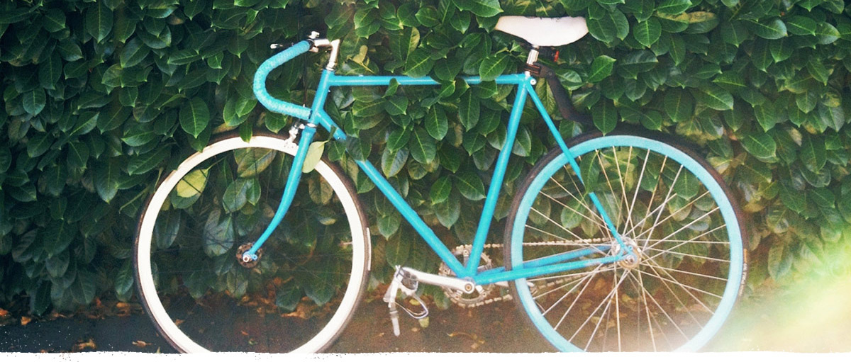 Cocobella blue bike
