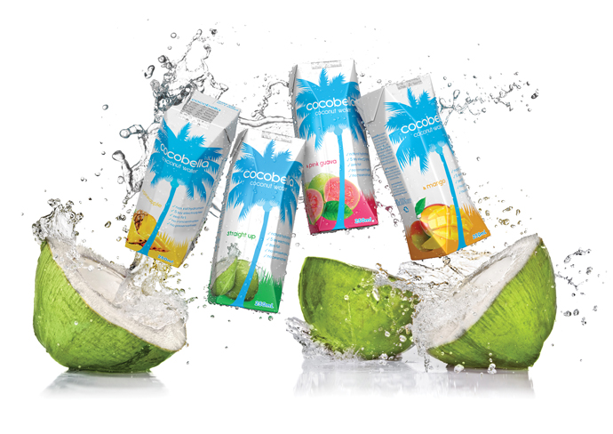 BPA free coconut water