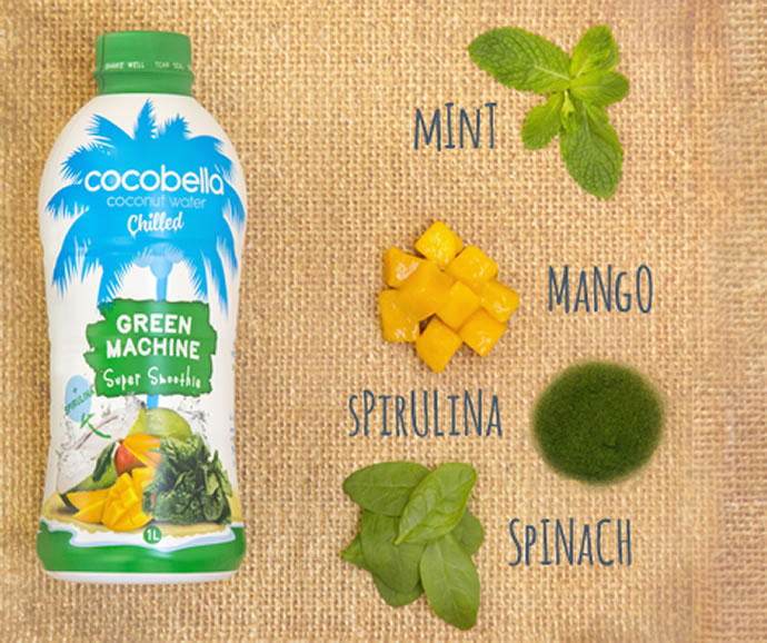 green machine coconut water ingredients