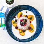 coconut soaked chia pudding