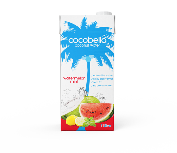 watermelon mint new coconut water