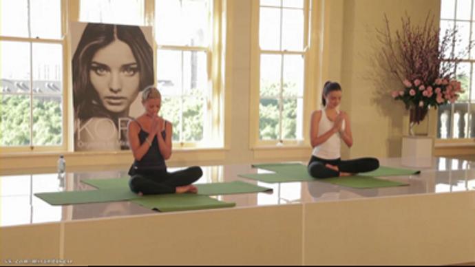Mirander Kerr Yoga