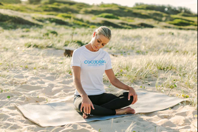 relax yoga pose