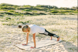 high plank yoga pose