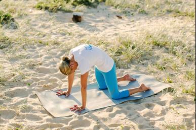 yoga for long haul travel  cocobella