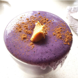 Peanut Butter & Blueberry Smoothie