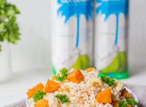 Coconut Rice is better with Cocobella