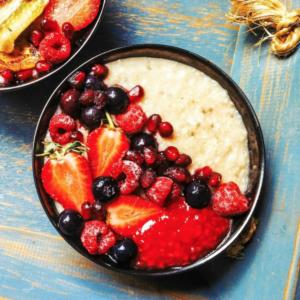Nomadic Fit Foodie's Vanilla, Chia Seed Porridge
