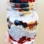 Coconut Yoghurt and Chia Parfait