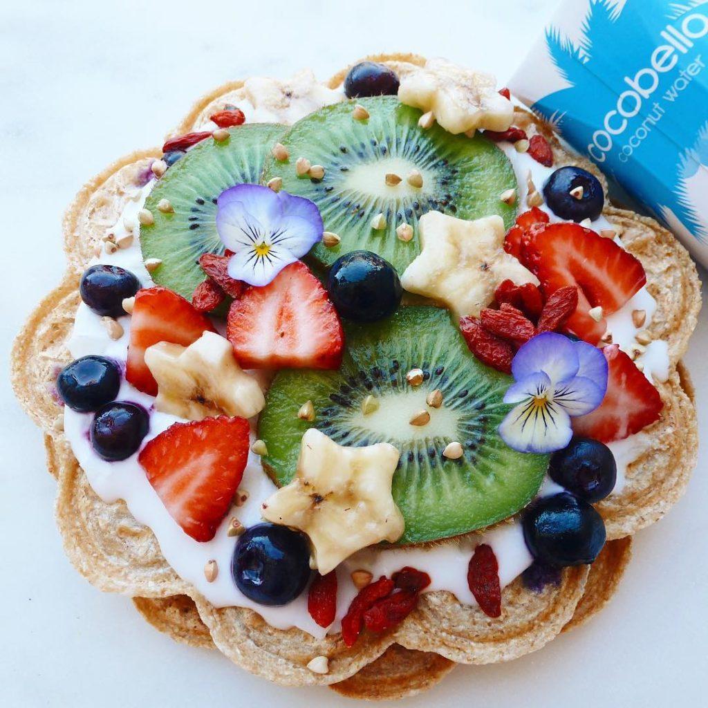@healthi4happy – Oat-Flour Waffles