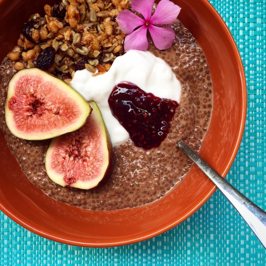 @masterofsnacks – Cacao Chia Pudding