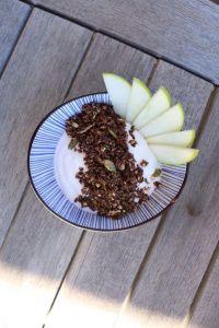 @sugarfreesisters Grain Free Cocobella Cacao Granola