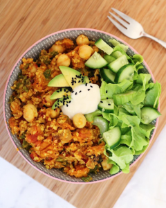 @naturally_nina_ Cocobella Quinoa Chickpea Vegan Curry