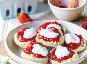 Strawberry, Rose and Vanilla Chia Jam