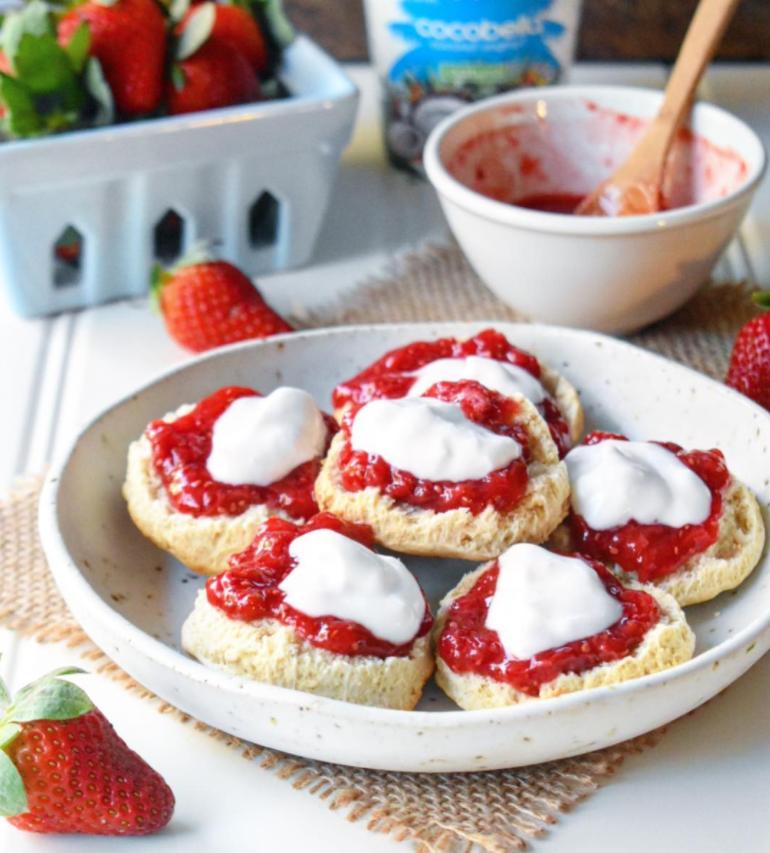 Strawberry, Rose and Vanilla Chia Jam