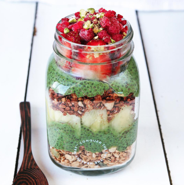 @thrivingonplants Vanilla Superfood Chia Pudding