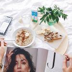 Julie Tran Breakfast with Cocobella @julie_tee