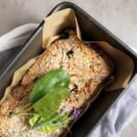 Gluten Free Blueberry & Banana Loaf by @momentsofdi_