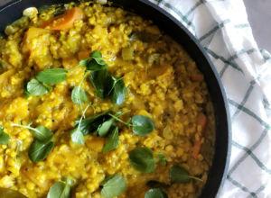 Mung Bean and Pumpkin Kitchari By Diana – @momentsofdi