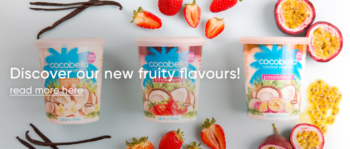 Discover our new fruity flavours!
