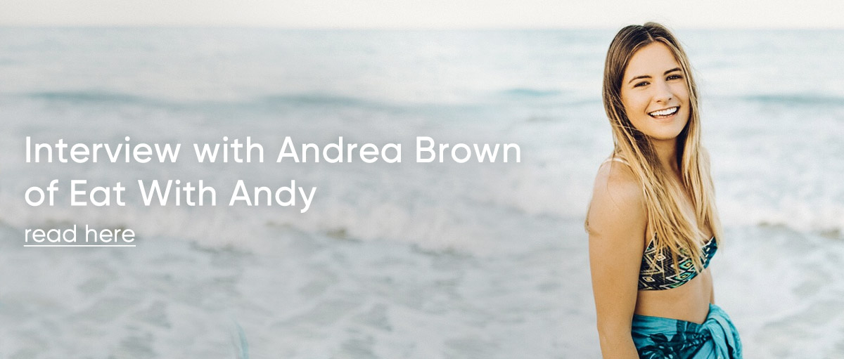 Interview with Andrea Brown of Eat With Andy