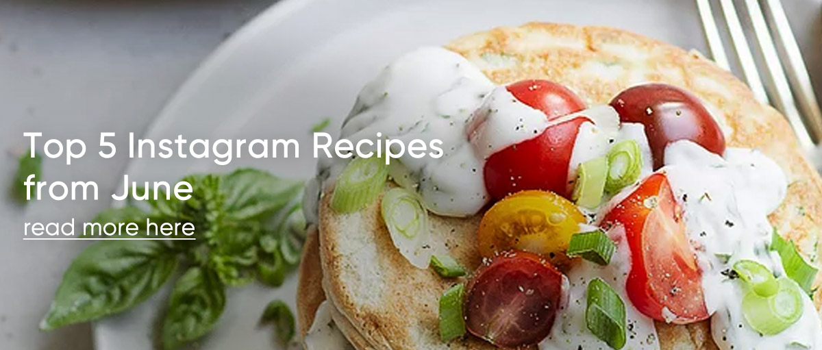 Top 5 Instagram Recipes from June