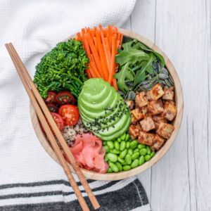 Buddha Bowl by Cherie Tu of @thrivingonplants