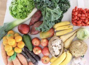 Fresh produce by Nina Gabriela