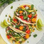 @ameliasbalancedkitchen – Spiced Bean and Avocado Tacos with Zingy Coconut Yoghurt Sauce