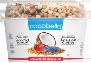 Yoghurt bowl Strawberry Blueberry 150g
