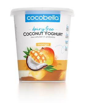Cocobella Yoghurt Mango 500g