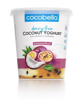 Cocobella Yoghurt Passionfruit 500g