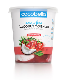 Cocobella Yoghurt Strawberry 500g
