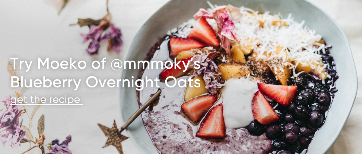 @mmmoky's Blueberry Overnight Oats