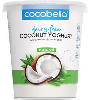 Cocobella Yoghurt Natural 500g