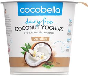 Cocobella Yoghurt Vanilla 170g