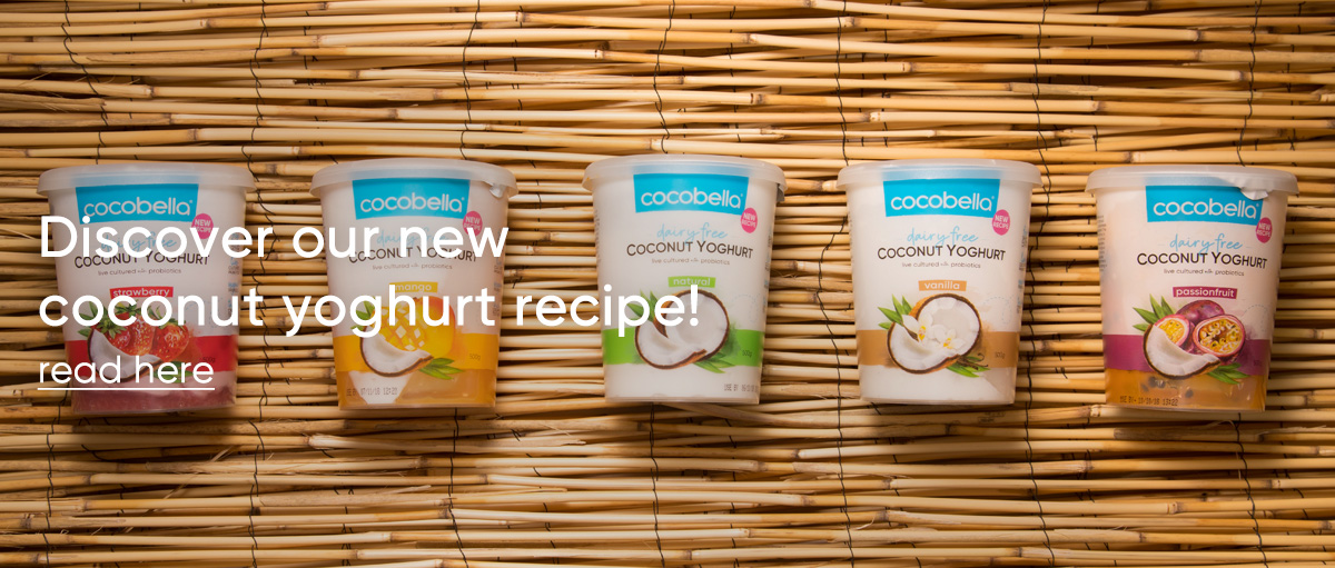 Discover our new coconut yoghurt recipe!