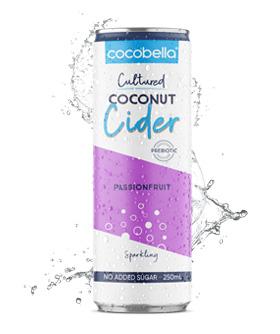 Cocobella Coconut cider - Passionfruit