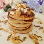 Peanut Butter Pancakes by @michellemurt