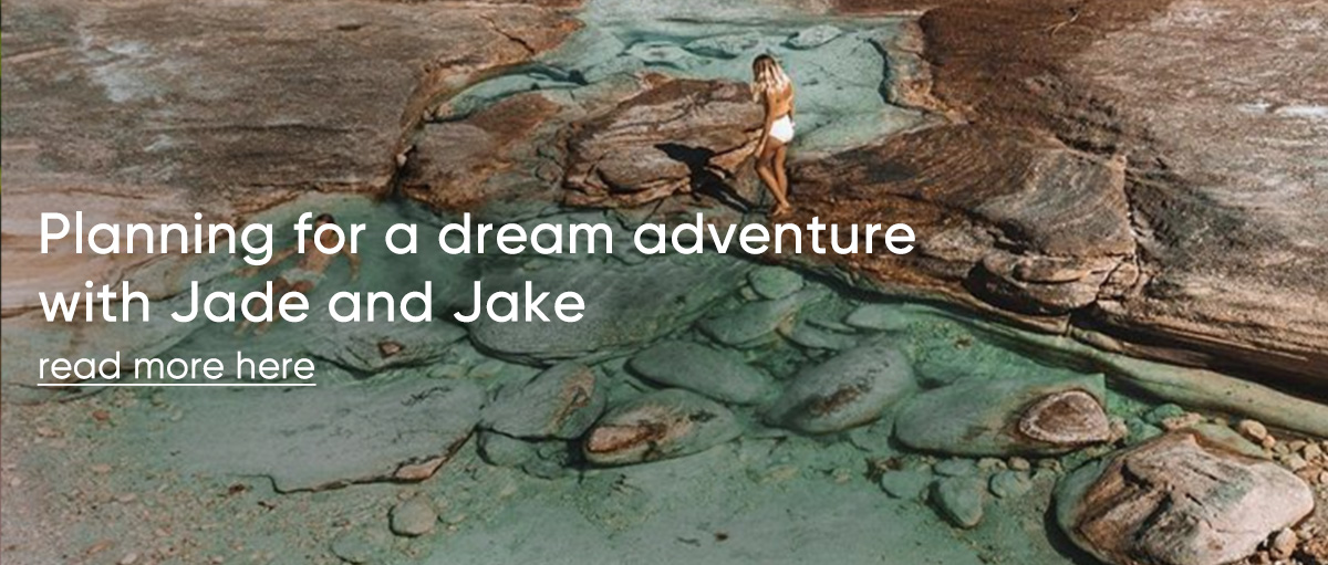 Planning for a dream adventure with Jade and Jake