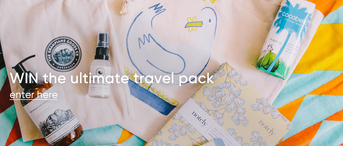 WIN the ultimate travel pack