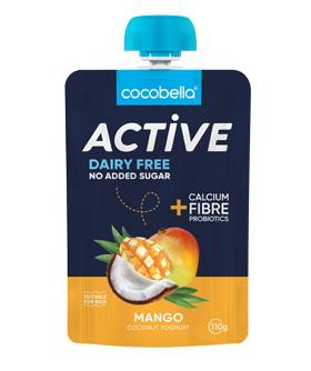 Cocobella active pouch mango