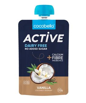 Cocobella active pouch vanilla