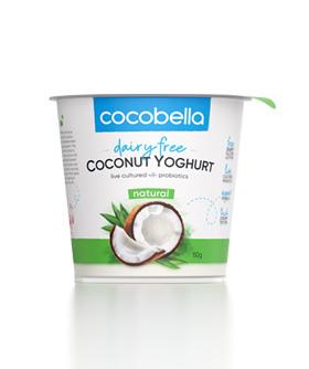 Cocobella coconut yoghurt 150g natural