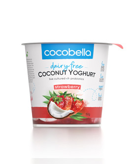 Cocobella coconut yoghurt 150g strawberry