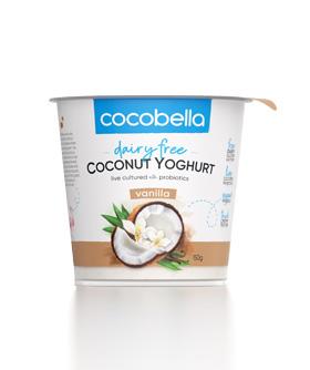 Cocobella coconut yoghurt 150g vanilla