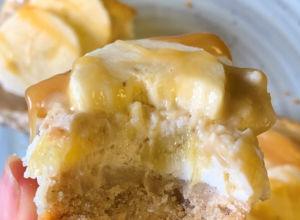 Banoffee Baked Cheesecake by @noashealthyeats